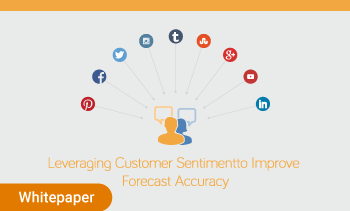 whitepaper:leveraging custormer sentiment to improve forecast accuracy