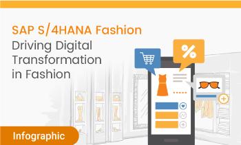 inforgraphic:SAP S/4HANA Driving digital Transformation in Fashion