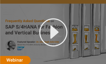 webinar: frequently asked questions on SAP S/4HANA