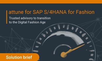 solutions brief: attune for SPA S/4HANA for Fashion